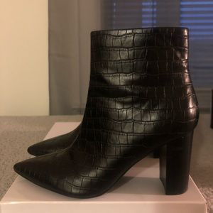 Nine West Shoes - Nine West Black Booties